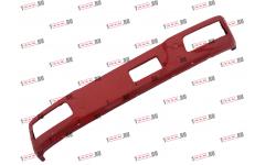 Бампер F красный металлический (до 2007г) для самосвалов фото Орел
